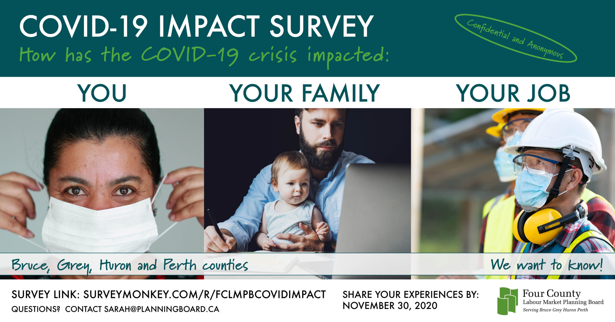 COVID-19 Impact Survey How has the COVID-19 crisis impacted: You, Your Family, Your Job